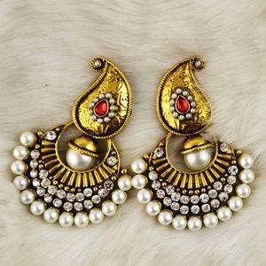 Afghan Style Big Earrings
